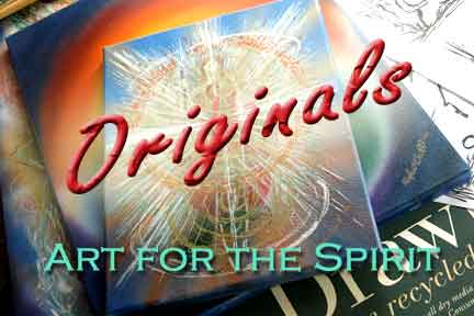 Art for the Spirit,  visionary original paintings and art by Hugh O'Neill Online store.